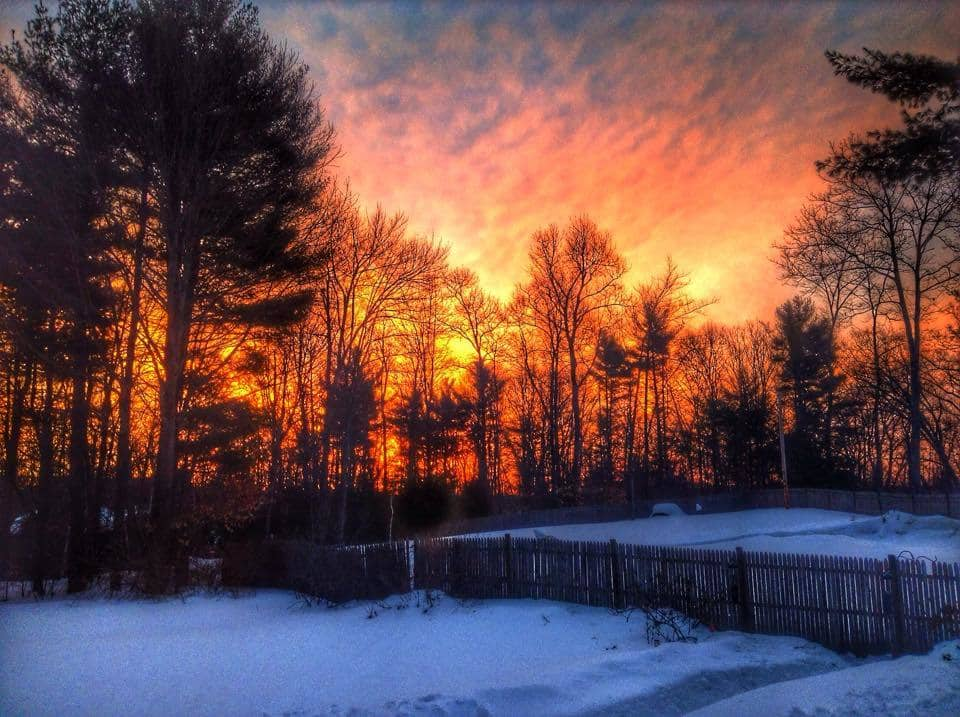 Another pretty sunrise this morning in