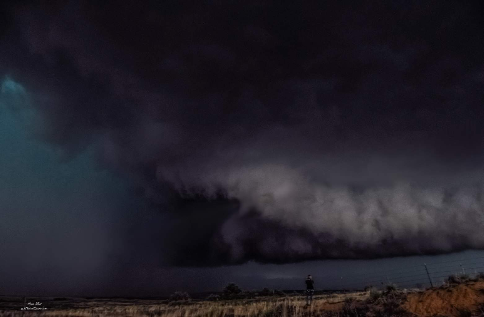 "I spent 75 minutes straight IN the Tor-box in the eastern Amarillo tornado Beast of 4-16-15......This what it looked like when we came out of the core north of Alanreed, Texas. ""Sometimes you just have to go where you never been before"""
