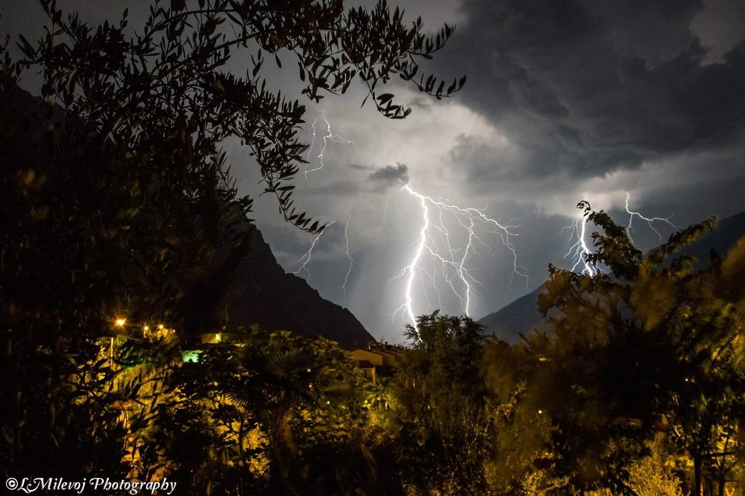 Lake Garda Italy august 1 2013
