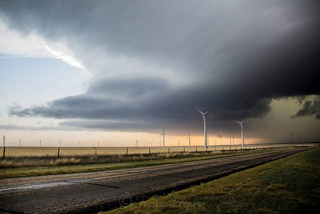 North of Panhandle Texas 4-11-2015