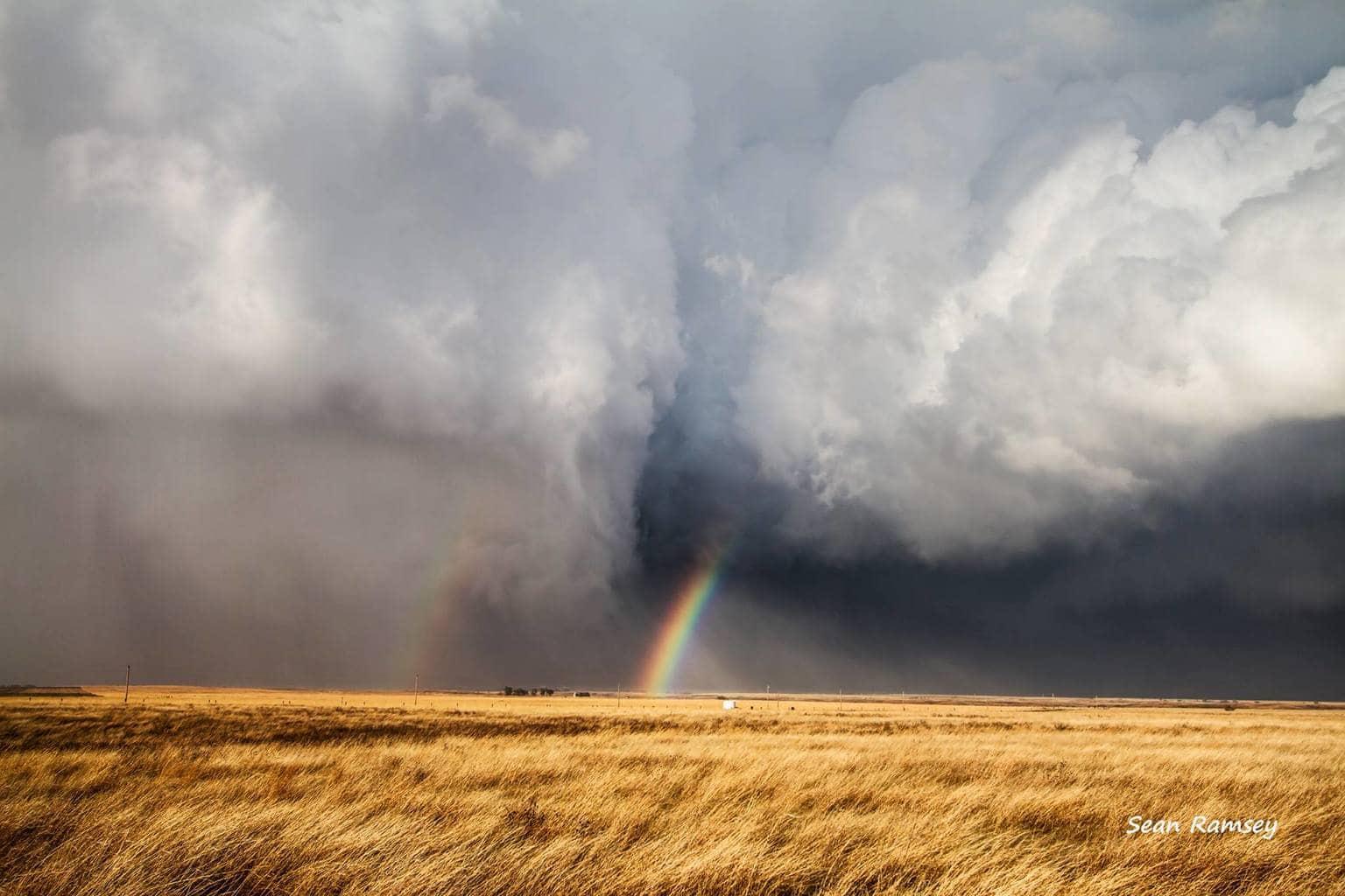 """""""Follow the Rainbow"""" - Aetna, KS April 8th, 2015"""