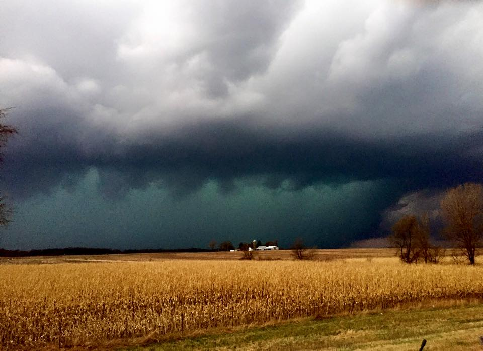 4.9.2015 NW Illinois - low grade quality photo, sorry. The turquoise/green with that golden crop in the foreground is a scene I've always wanted to shoot!