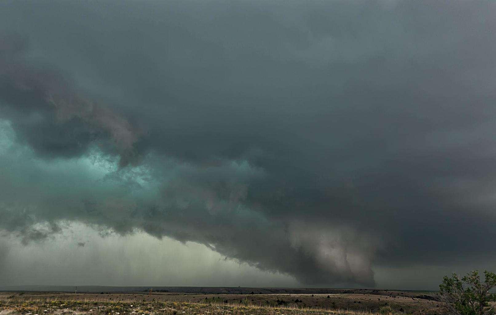 Western Kansas storm shot 04/24/2015