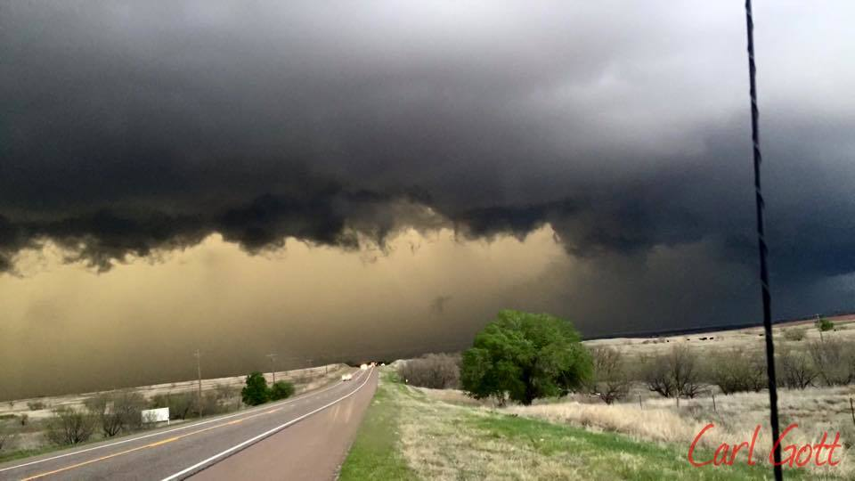 4-16-15 Texas storm chase. Pictures where taken between Amarillo and wheeler.