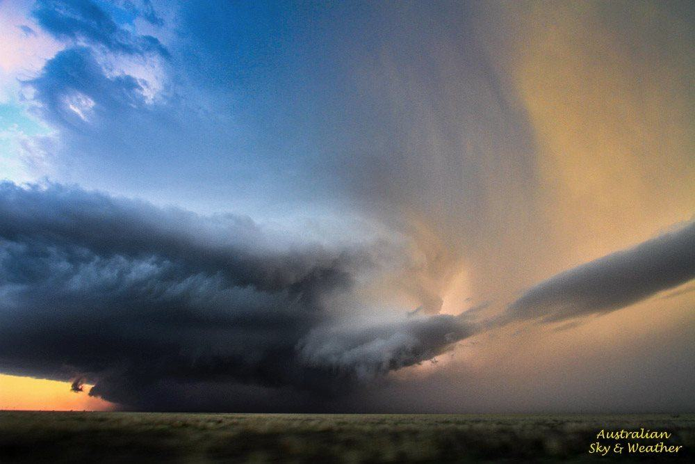 Supercell near Floydada,TX.... when you see a supercell like this you just gape!! Spectacular structure! It's almost incomprehensible to see the entire storm rotating as fast as this one was. 22nd April, 2015