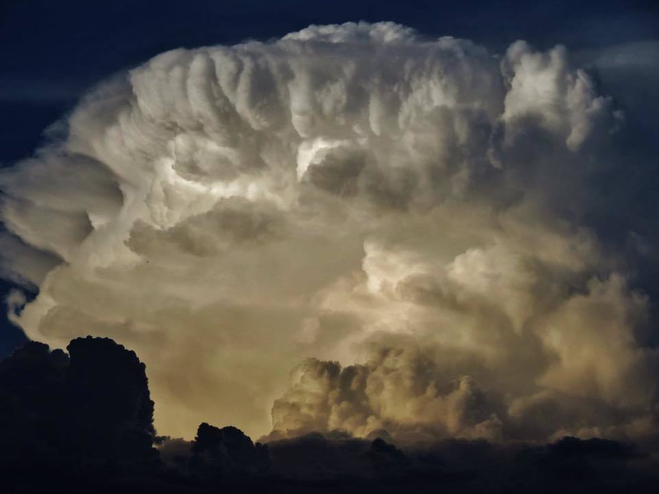 """The Beauty is the Beast"". This Thunderhead was shot Last Summer in Brandon, Manitoba, Canada."