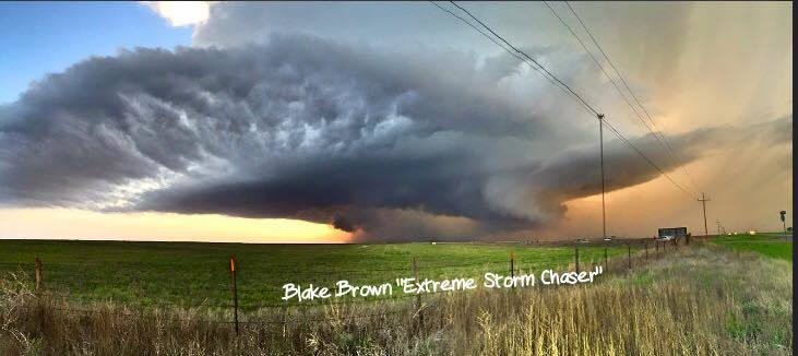 Had to post this as soon as I could. LP supercell near Lockney TX that had a funnel and possible tornado. It was the most photogenic storm I've photographed.