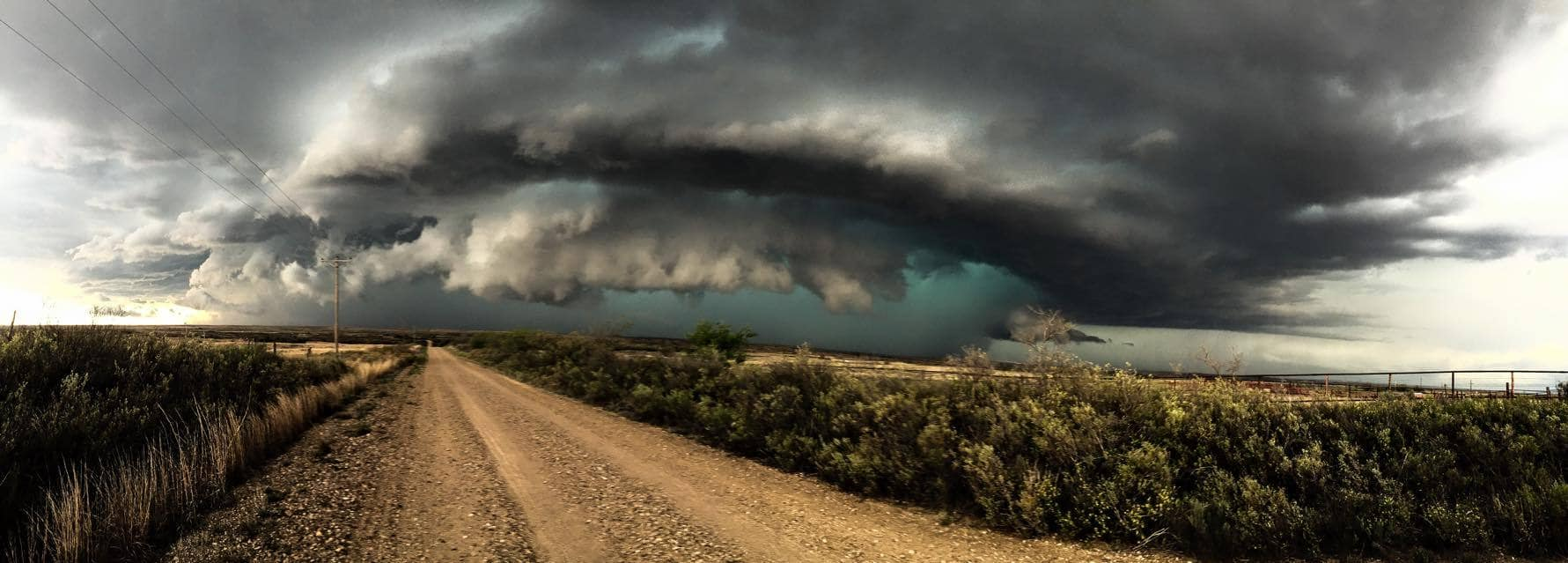 Texas Panhandle yesterday!