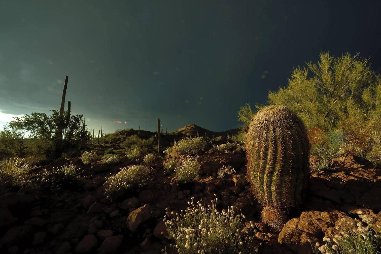 Queen Creek, AZ March, 24th Apache Mountains Thunder Storm