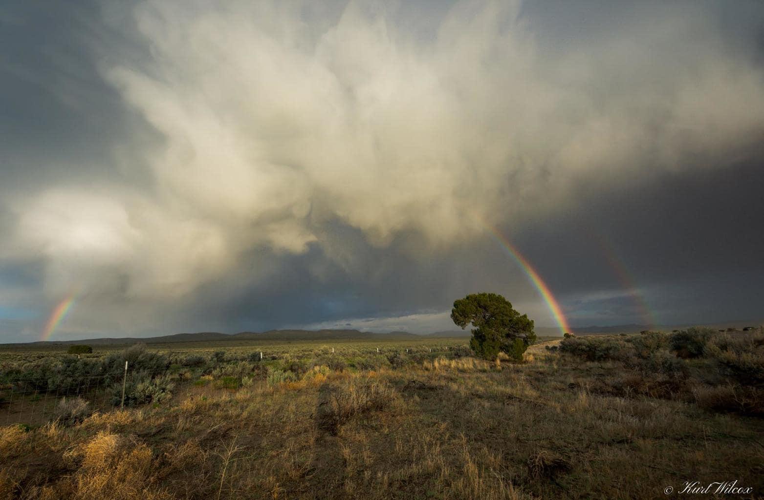 Beautiful storm that moved threw southern Idaho northern Utah last night