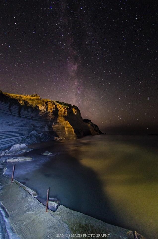 loggas sunset beach peroulades corfu greece