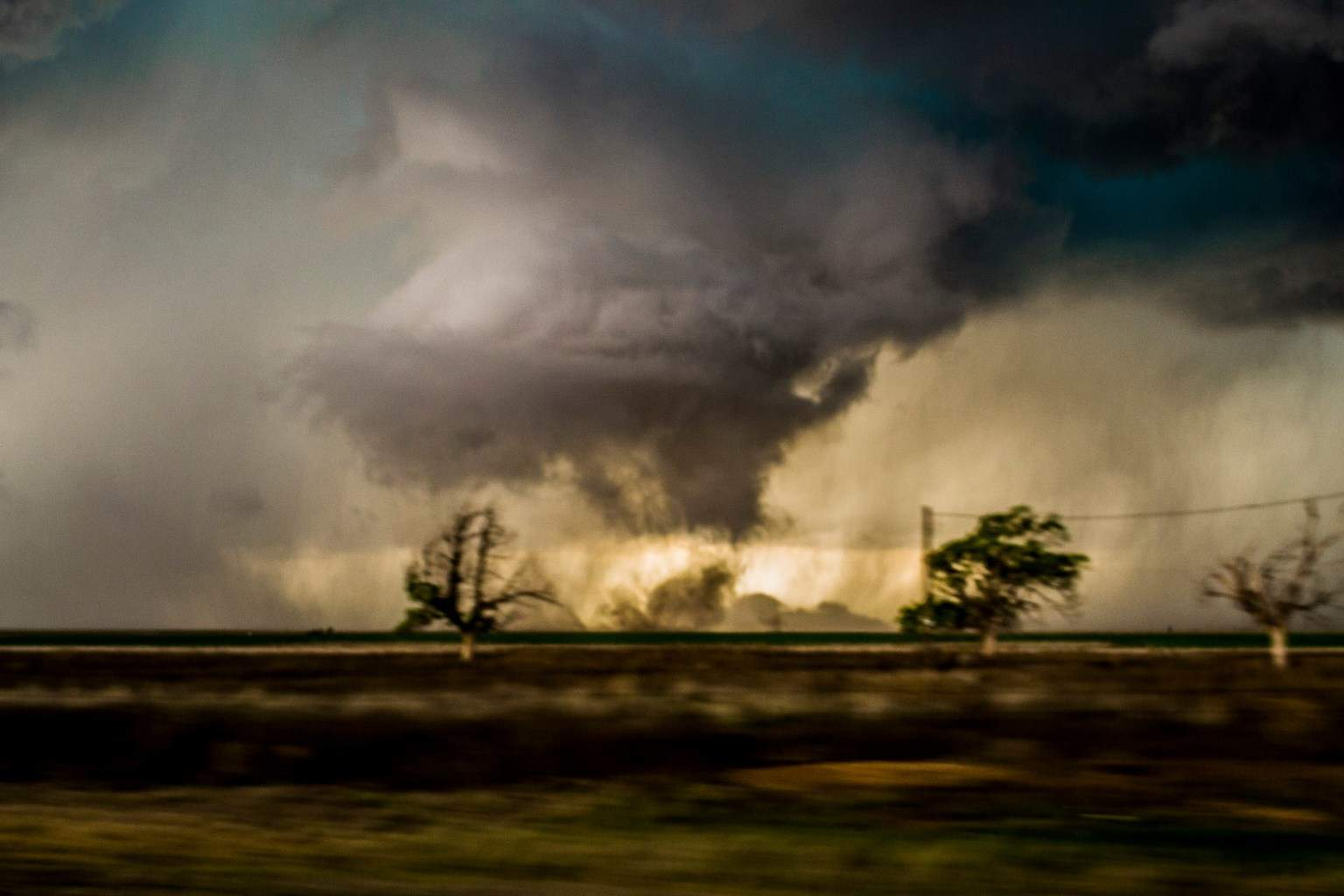 My second Tornado of the year in the Texas panhandle.