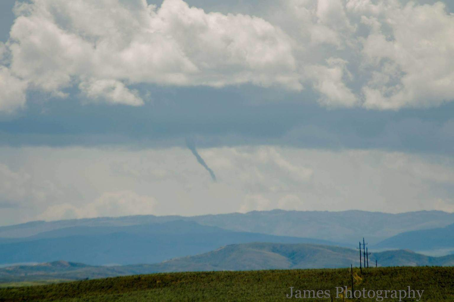 This isn't much but it is my first lol I captured this 23 miles SW of Worland, Wyoming.