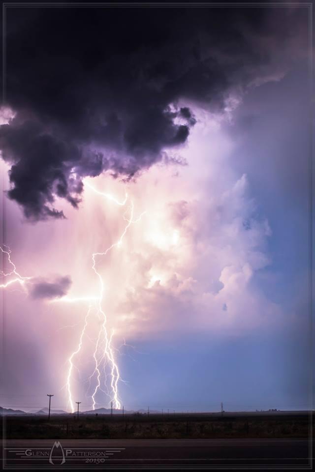 Lightning Shot South of Hobart Oklahoma on September 15th 2013. ISO 800 f/10 for 15 Seconds