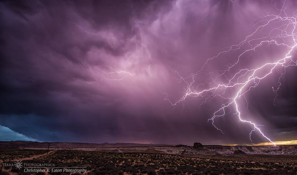 With the El Niño bringing unusual spring thunderstorms to the southwest, anticipation of the monsoon season rises. Today I offer up some lightning from last year's monsoon.