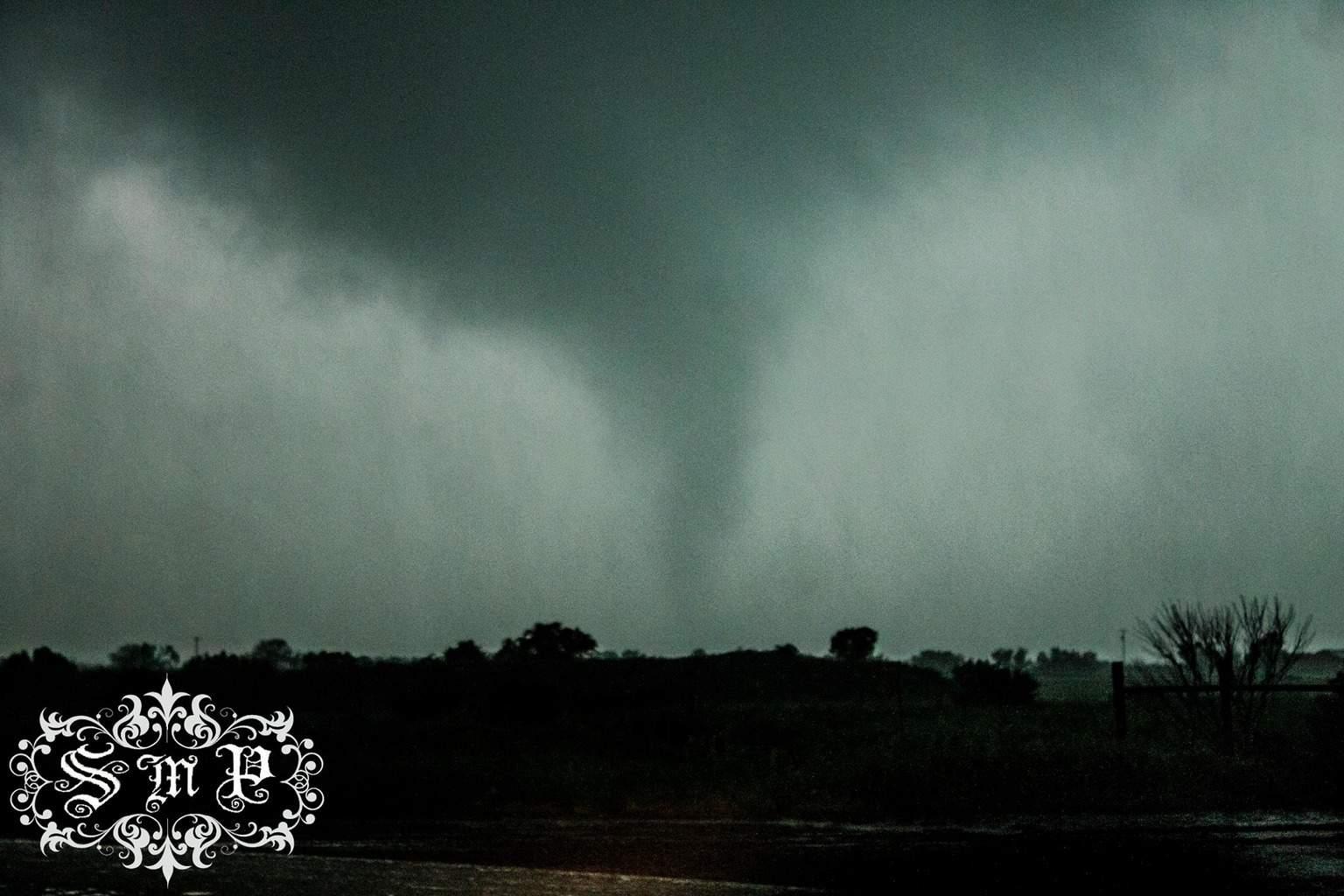 """""""Lone Star Tornado""""  5-7-15 Wilbarger County Texas... 13 Miles South of Vernon, TX... Single Image... Zero Editing... Enjoy..."""