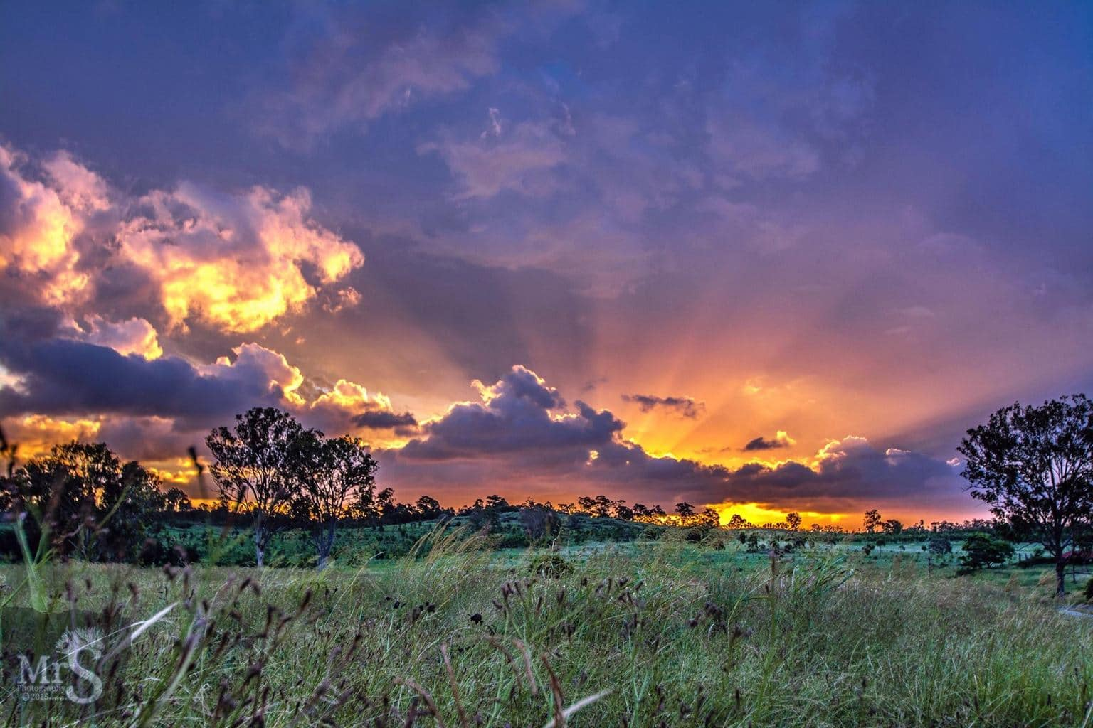 No Storms here as it's quickly approaching our winter. This shot was in January when a storm cell collapsed and I was left with the most amazing sunset instead. Queensland Australia Jan 19th 2015