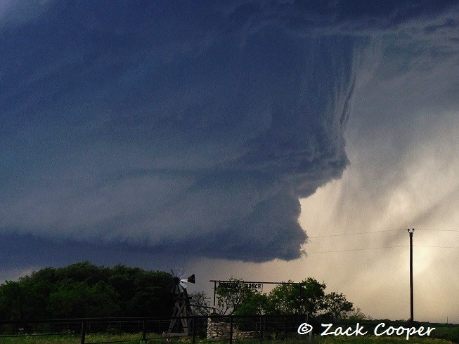 One of maybe just a couple more shots from Sunday near Hico, TX.