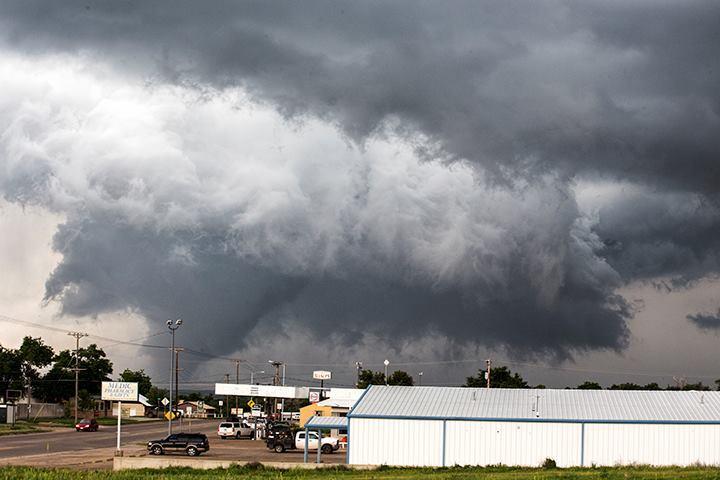 Large tornado near Canadian, Texas - May 27th 2015.