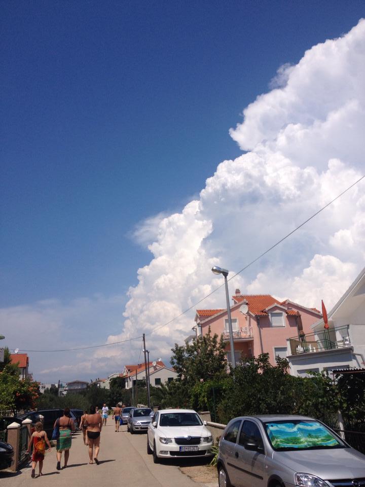 Summer storm near Šibenik,Croatia!