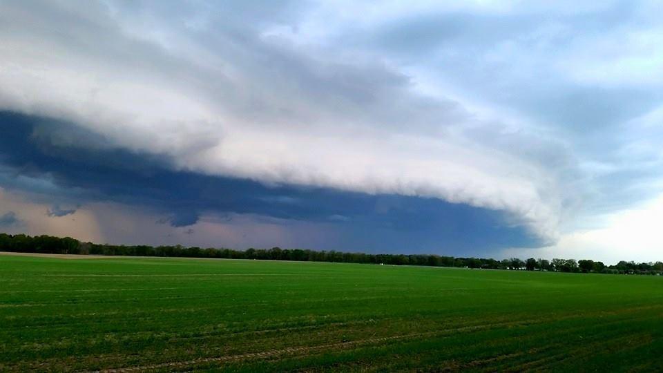 05.05.2015. Great Shelf cloud in North-Germany.