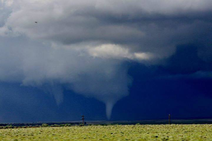 This was such a fun chase. The tornado was so picturesque