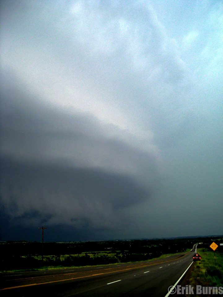 """""""The Belly of the Beast"""" Monster HP Supercell June 11th 2009 Lampasas, TX. One of the most incredible supercells I have ever witnessed."""