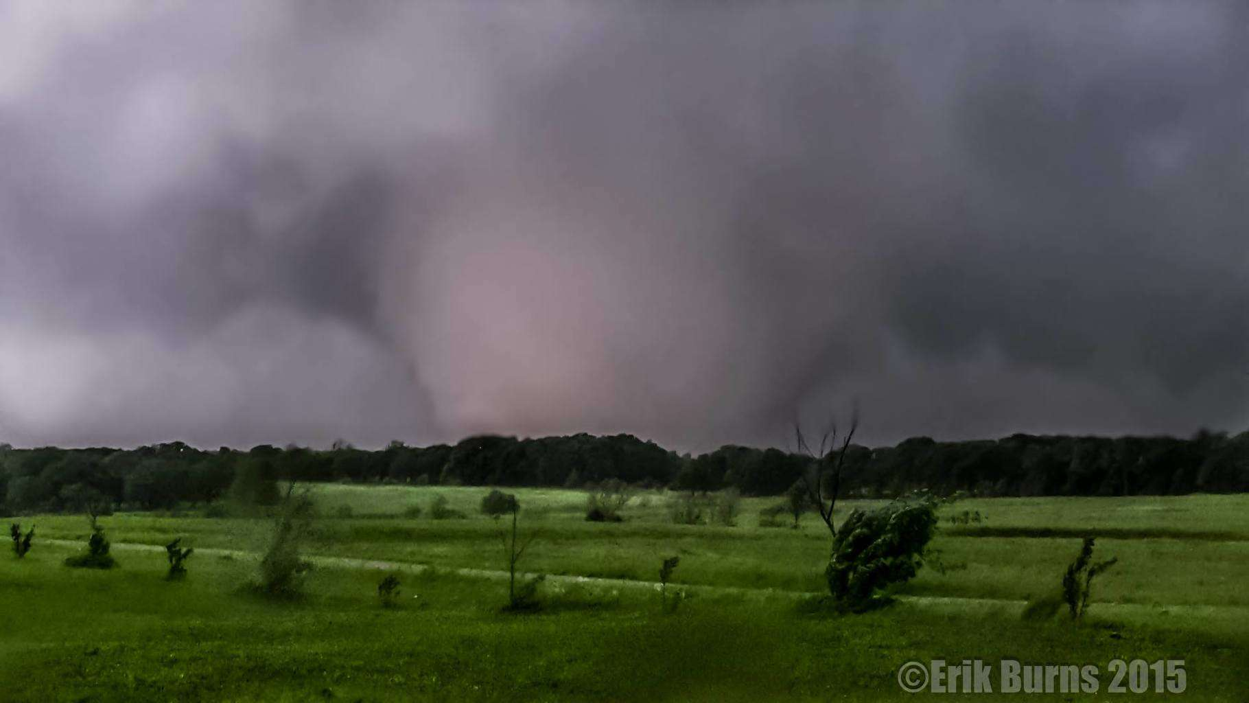 Today is May 3, 2015. On this date in 1999 a terrible F5 tornado struck Moore, Oklahoma. Let's never forget the destruction and lives that are lost from these large violent tornadoes. Something so breathtaking, but yet so deadly. Here is my shot of a violent tornado from May 19, 2013. Shawnee, Oklahoma. We assisted with search and rescue immediately after the tornado passed.