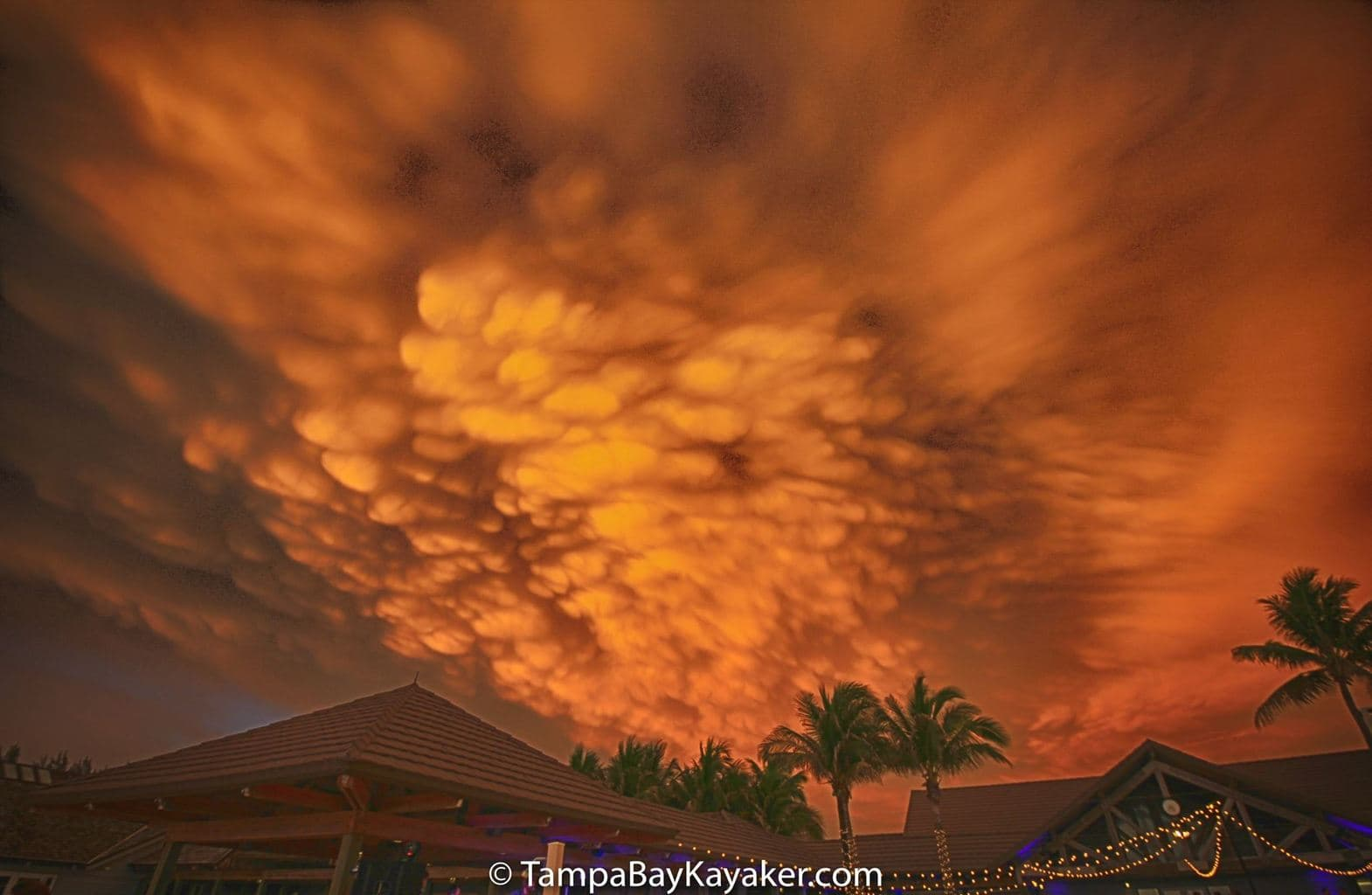 Boca Grande Florida - Mammatus Clouds