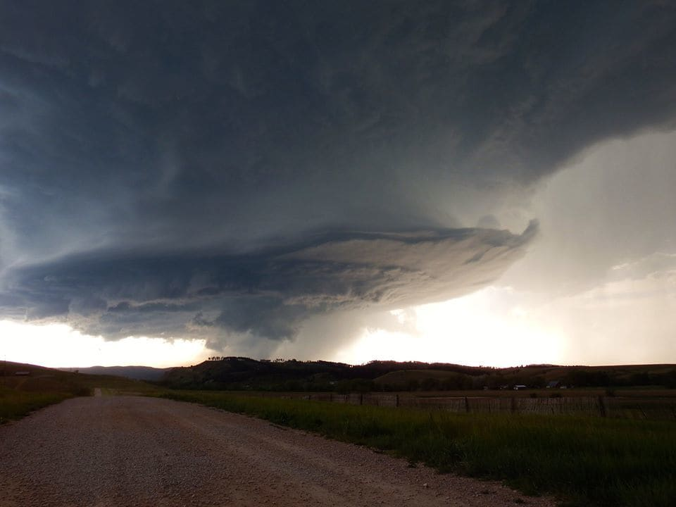 Awesome supercell just outside Rapid City, SD today! 6/1/15Awesome supercell just outside Rapid City, SD today! 6/1/15