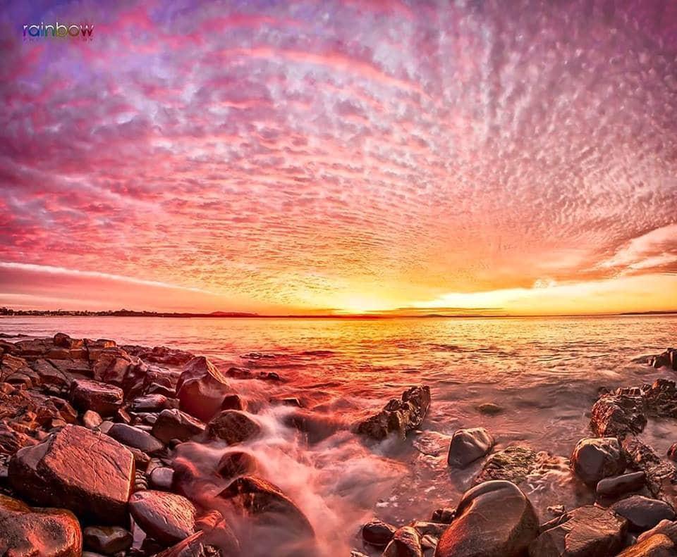 Qld, australia- sunset of the year!