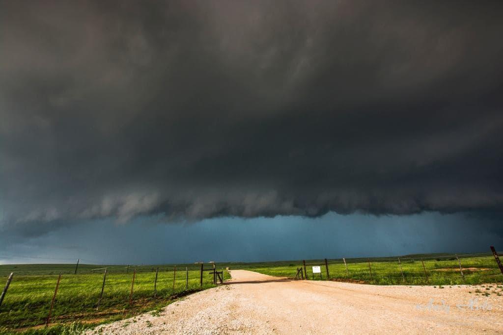 Tornado warned HP-Supercell, Throckmorton/Texas (May 8th 2015)