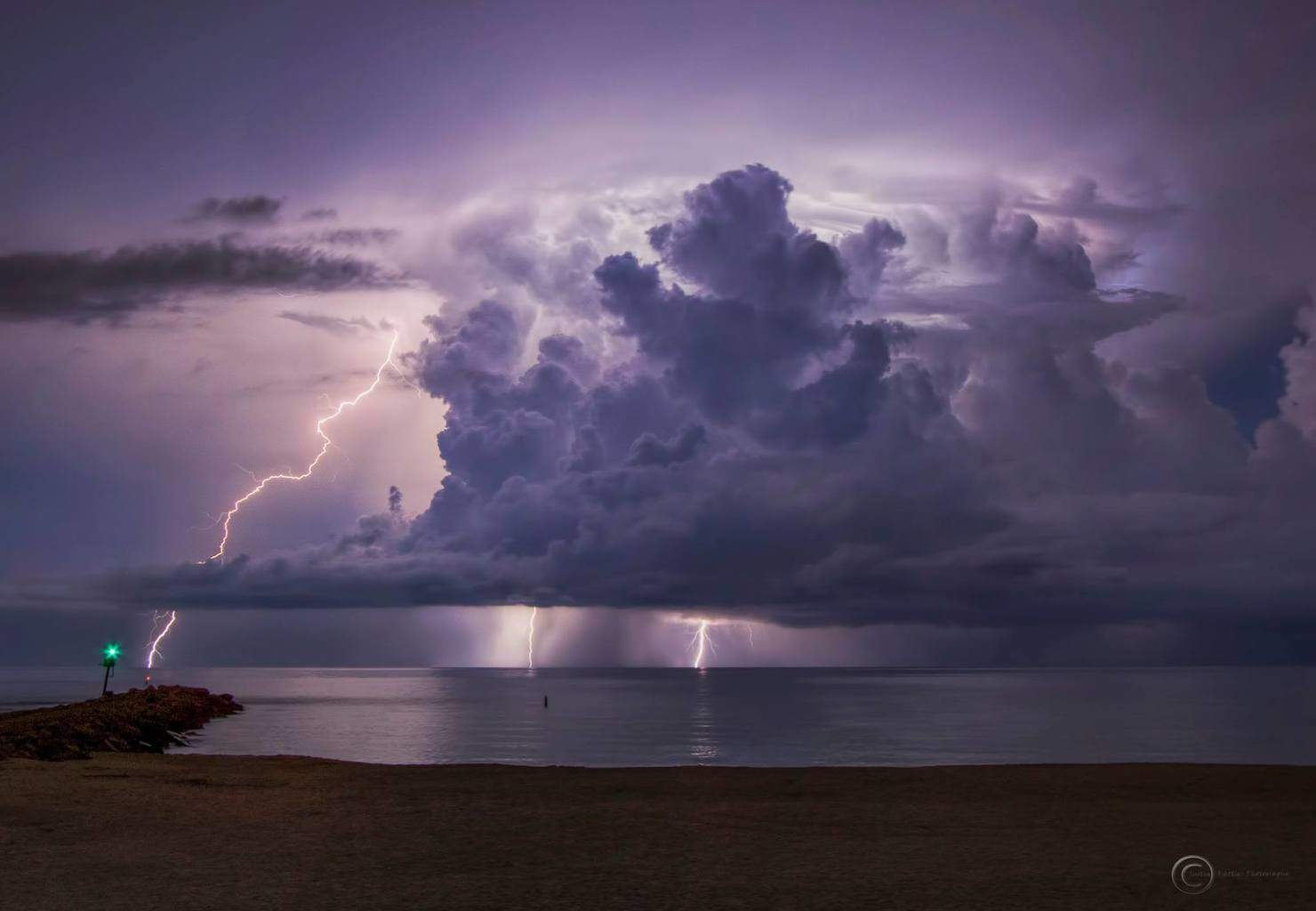 Shot from last week at the North Jetty in Nokomis, Florida and a time lapse of that storm and one I posted a shot from last week near Honeymoon Island State Park in Dunedin, Florida. Hope you enjoy.