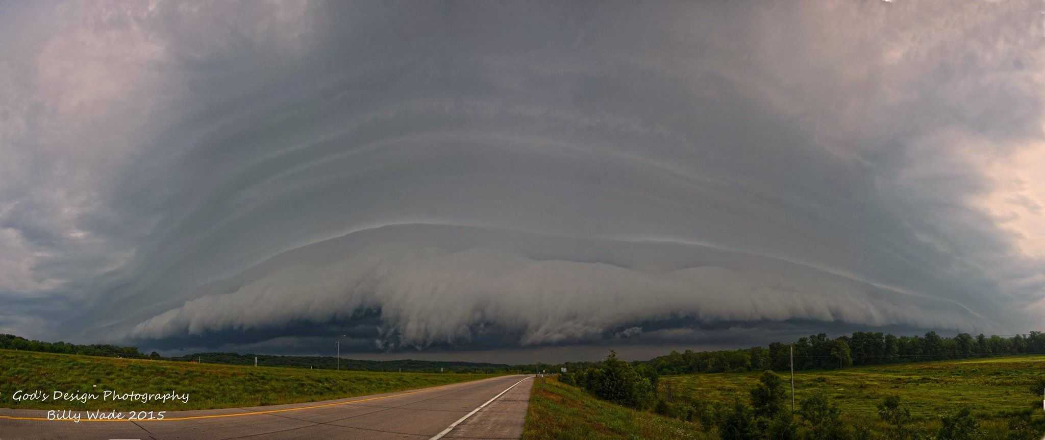 Beautiful shelf cloud here in Joplin mo, a few days ago!!!!!!