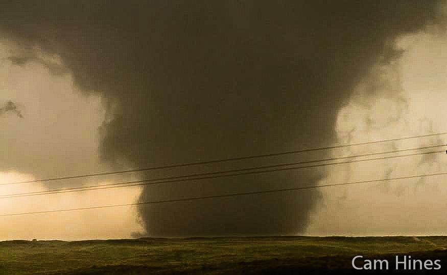 I know there's been 101 or more photos posted here of the Canadian, Texas tornado from a few days ago but here's a shot I took.  Being over here at the moment from Australia, this will without a doubt go down as one of the best days of my life and one I'll never forget.