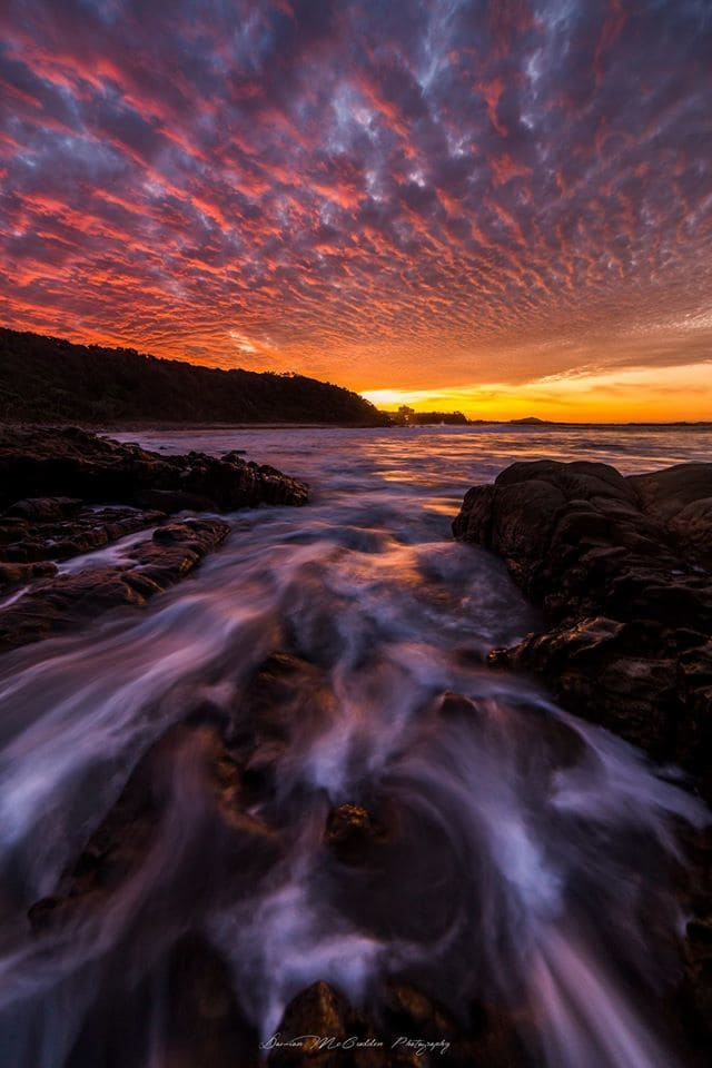 We had an absolute ripper of a sunset here in Australia today. I captured this from Coolum Beach in Qld.  Hope you like it.