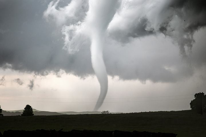 Tornado near Ralph, South Dakota on 21st June 2015.