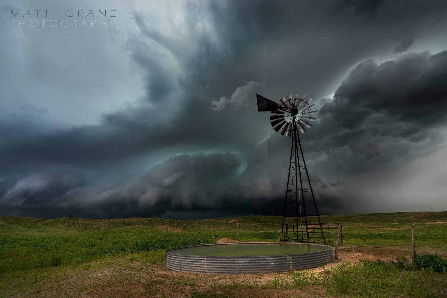 The Old Windmill and a storm. I was so excited to shoot this scene that I tripped and fell head first into the ground as I ran up to this spot... I and my camera lived to shoot another day. LOL.