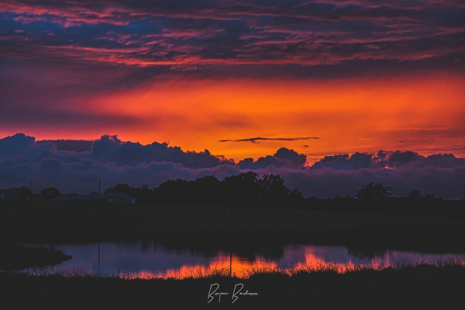 """""""The heavens declare the glory of God; the skies proclaim the work of his hands."""" - Psalm 19:1 Taken after a round of stormy weather moved through the area.  Prints are always available upon request!  Canon 5d Mark II Canon 24-105 F/4L"""