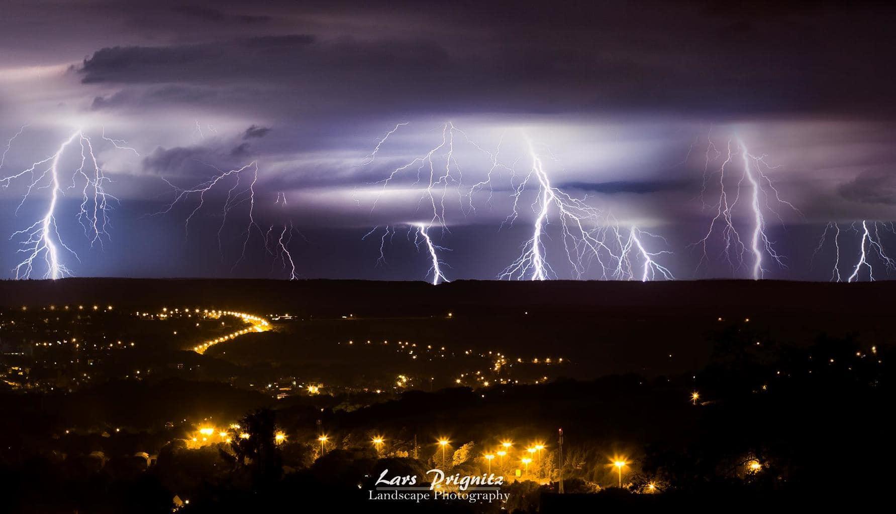 Amazing Lightning Show, Belgium, 5.6.2015