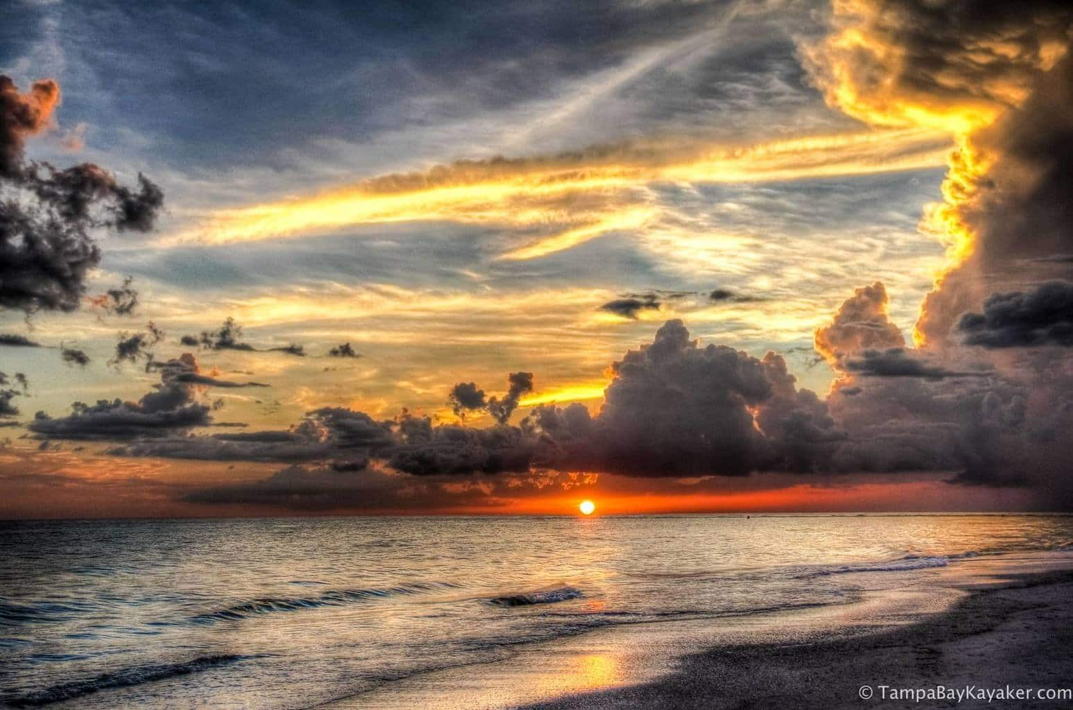 Sunset and the Thunderstorms - Sarasota Florida