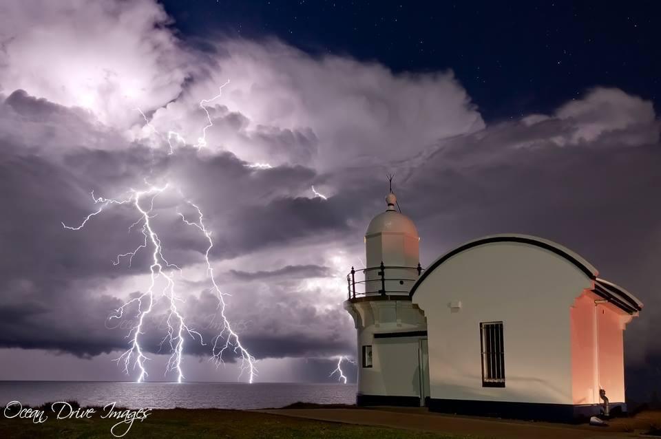 Caught a nice little storm on the 25 June , Australia...