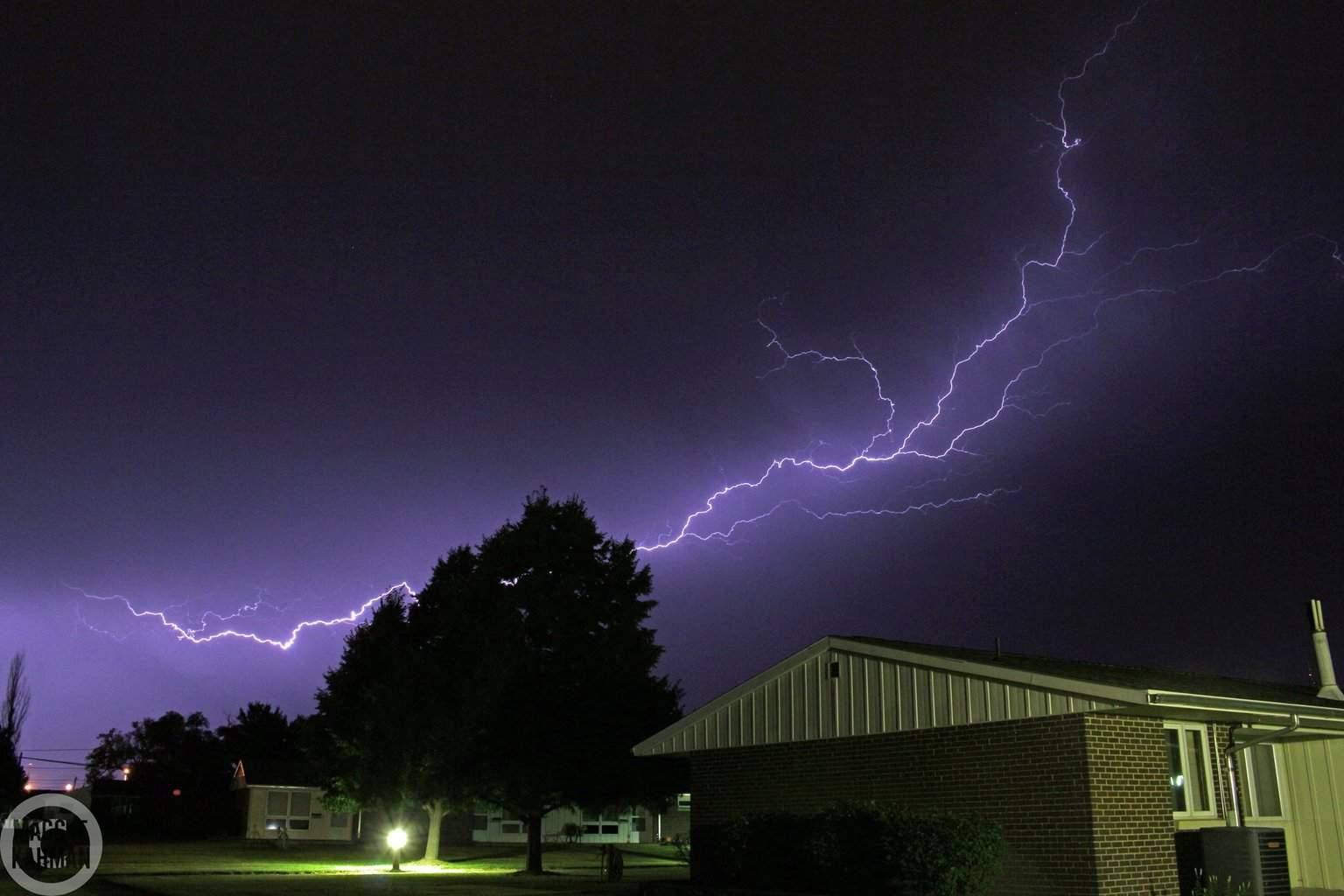 I took this VERY early yesterday morning (7/11) around 3am. Nothing was severe, but had quite a display for a little while. Taken in Kearney, NE. Not sure what to call this, anyone have any suggestions?
