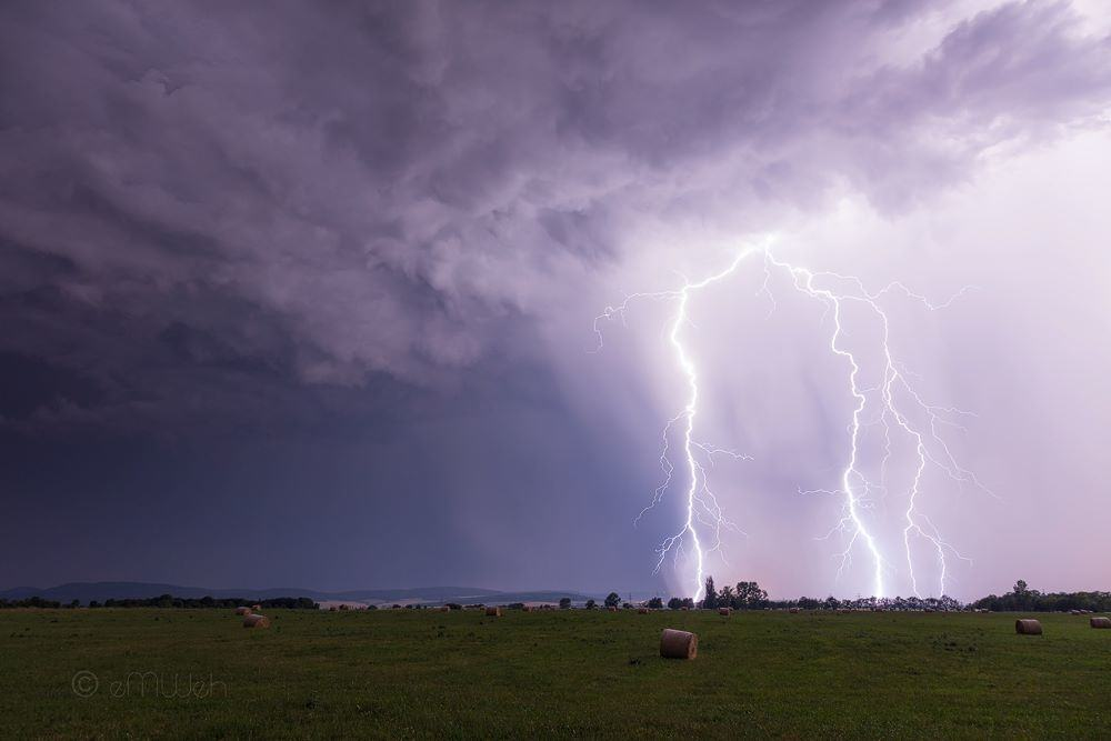 A night full of lightning in central germany (July 04th, 2015)