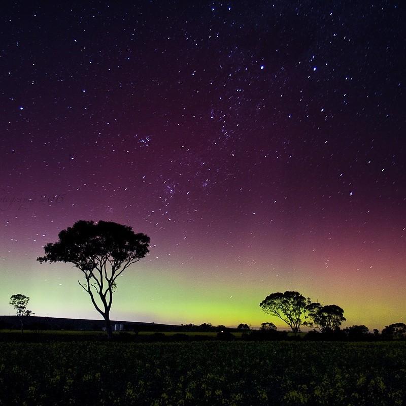 Aurora Australis. Bacchus Marsh Victoria.