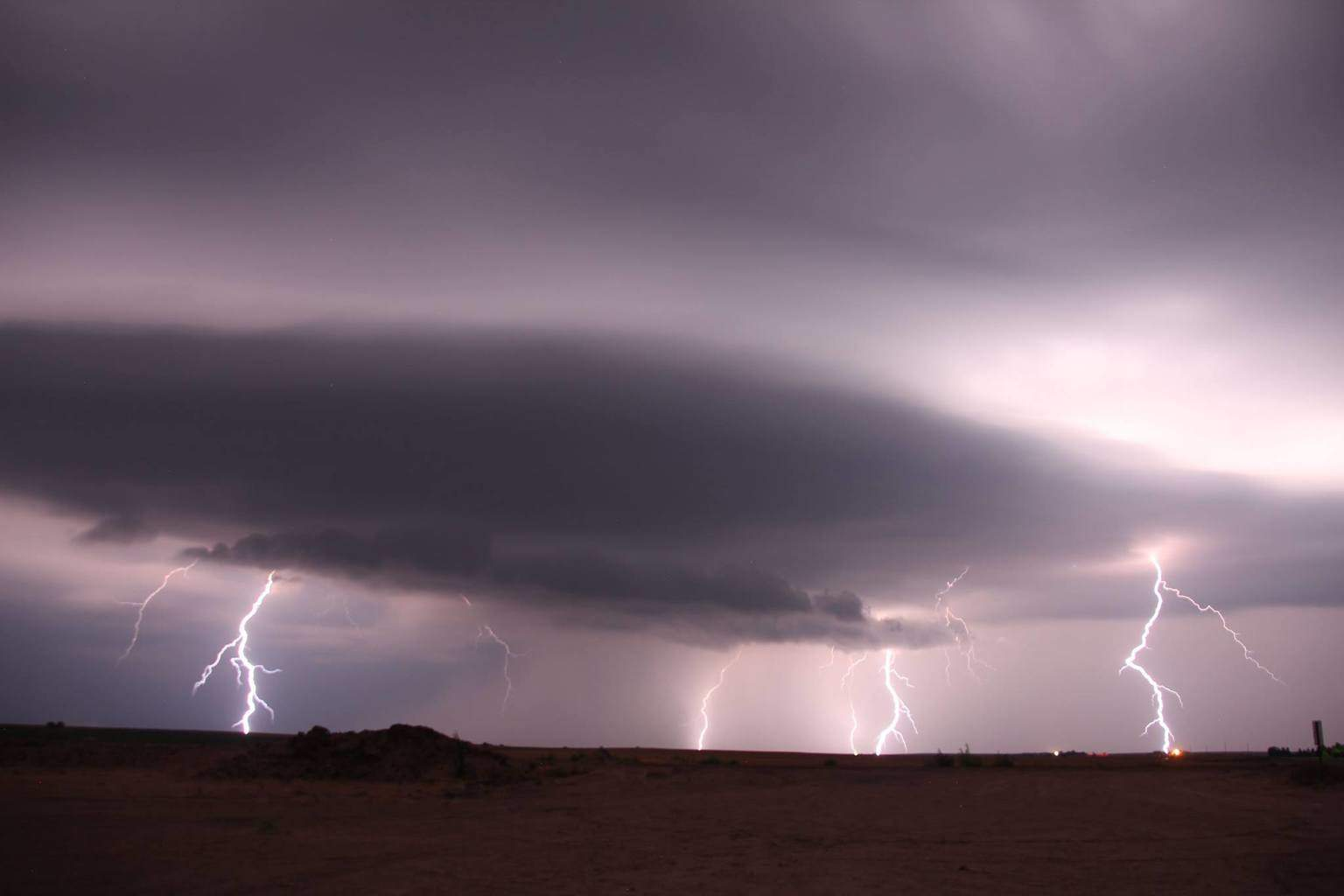 July 23, 2015 - Just North of Norton Kansas  No enhancements, no Photoshop, no stacking.... just the raw image... 7 Cg strikes in less than 45 seconds... Never have I caught anything likes this before. Its a first for me!