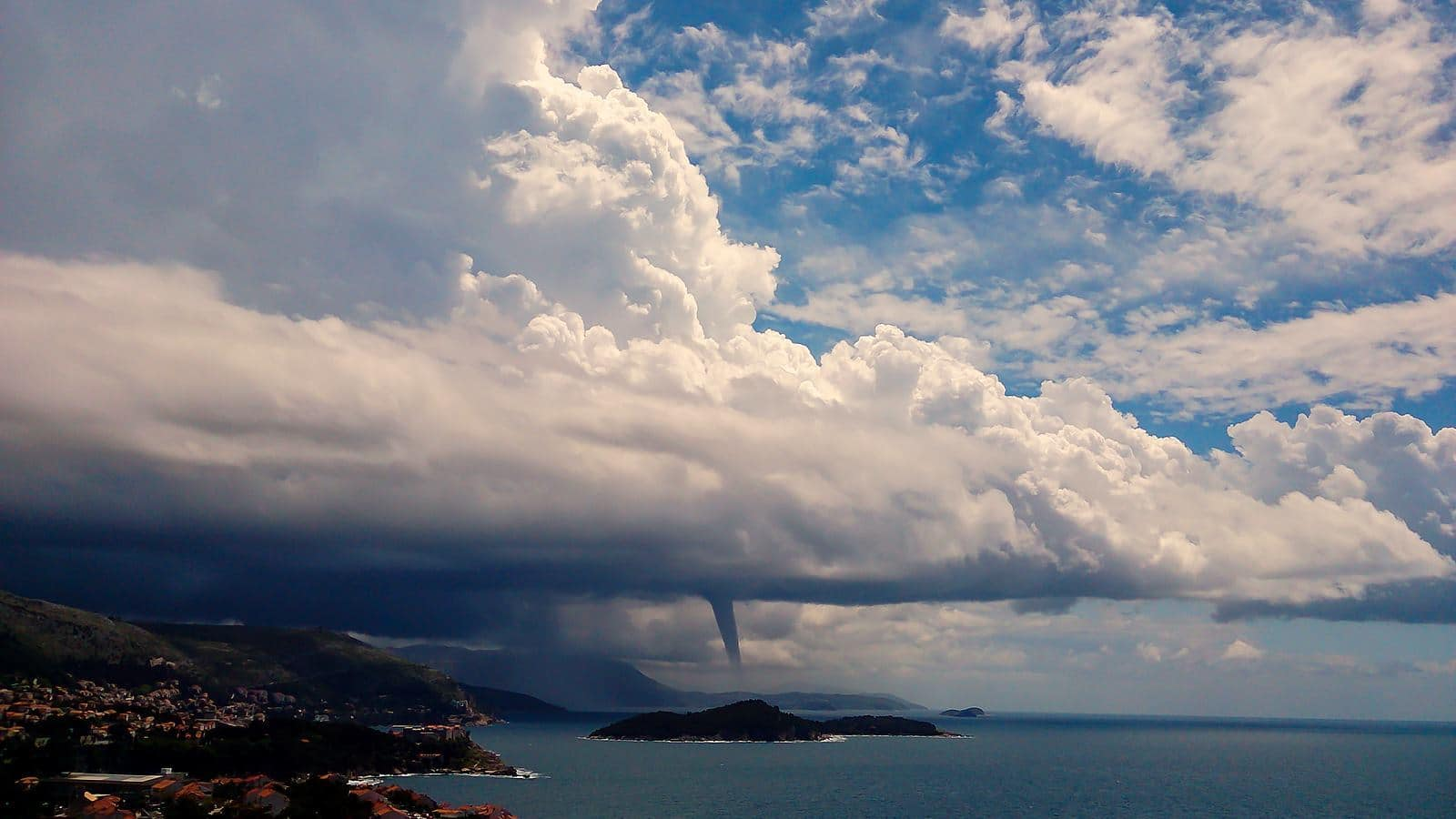 It s been a while since i posted anything this is a waterspout i shot while ago 30.05.2013. it has been siting on my hdd for a while.