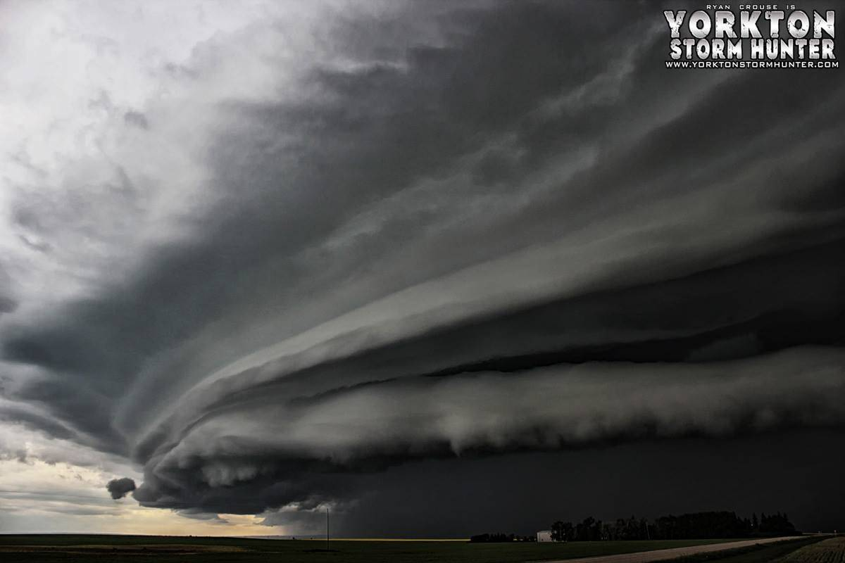 Mon. Aug 5, 2013 - Last Chase day from that year - pretty happy outcome Severe Warned Storm From Rouleau - Assiniboia Sk. Canada Intense Shelf Cloud near Rouleau!!