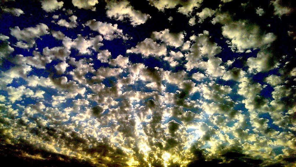 """Yet another glorious drive to work. Looks like the sun sneezed, so I'll call this one """"Gesundheit""""."""