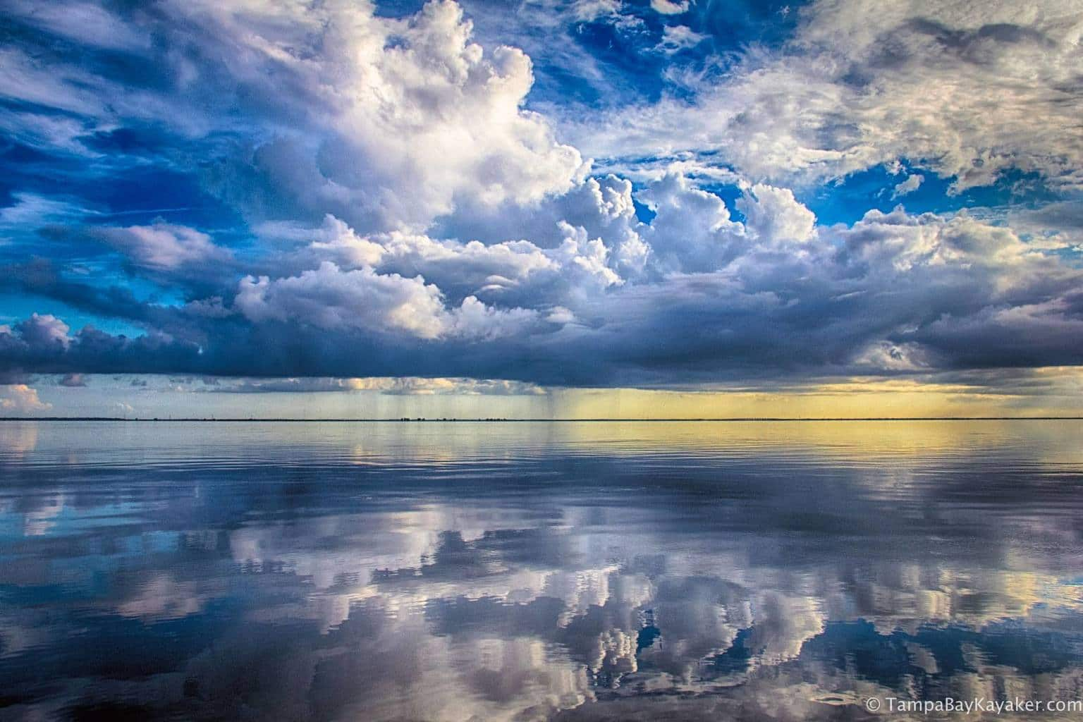 Tampa Bay Reflections and Thunderstorms